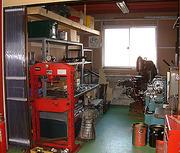 機械加工室(整備工場)